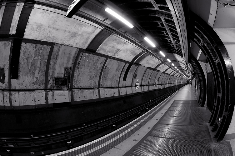 underground through a lens